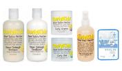Curlykids Hair Care Full Set - 5pc w/ 1 Sheet Collagen Mask