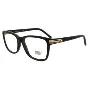 Mont Blanc Glasses Frames Mb0477 005 Black & Gold