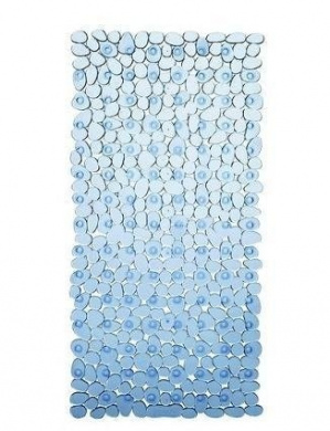 New Extra Long Blue 90 X 40Cm Pebbles Anti Bacterial Non ...